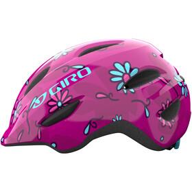 Giro Scamp Helm Kinder pink street sugar daisies